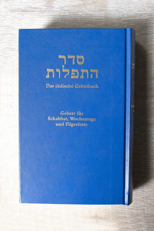 Cover: Das jüdische Gebetbuch - Gebet für Schabbat, Wochentage und Pilgerfeste