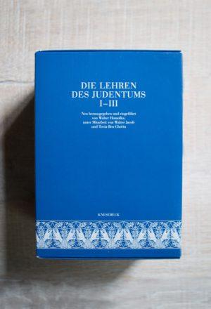 Die Lehren des Judentums nach den Quellen von Walter Homola