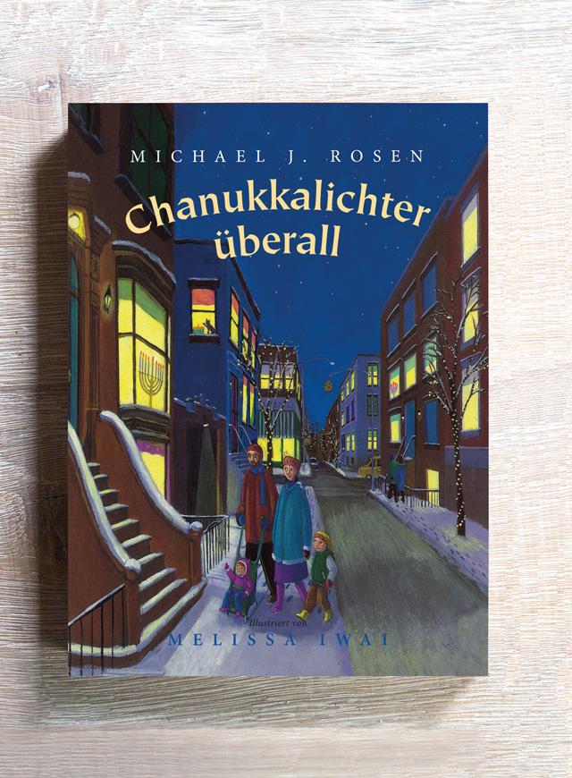 Chanukkalichter überall von Michael J. Rosen